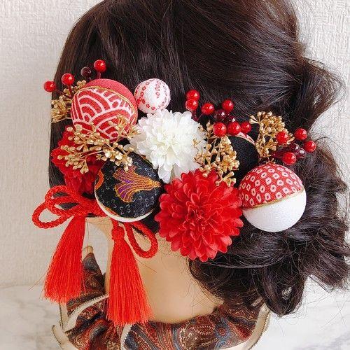 飾り 和装 髪