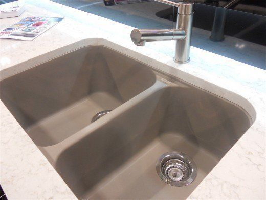 A Composite Granite Sink Is Extremely Easy To Clean And Hard To