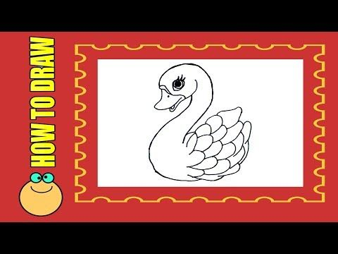 How To Draw Duck For Kids Step By Step Easily Art Tutorials Drawing