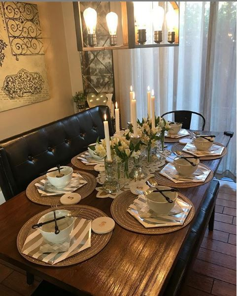 A Well Set Dining Table Is Not Only Welcoming But Makes Even A