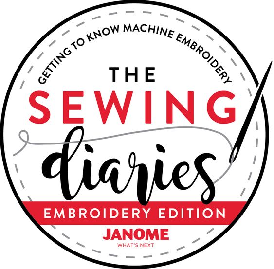 Janome Sewing Diaries - Emboridery Edition