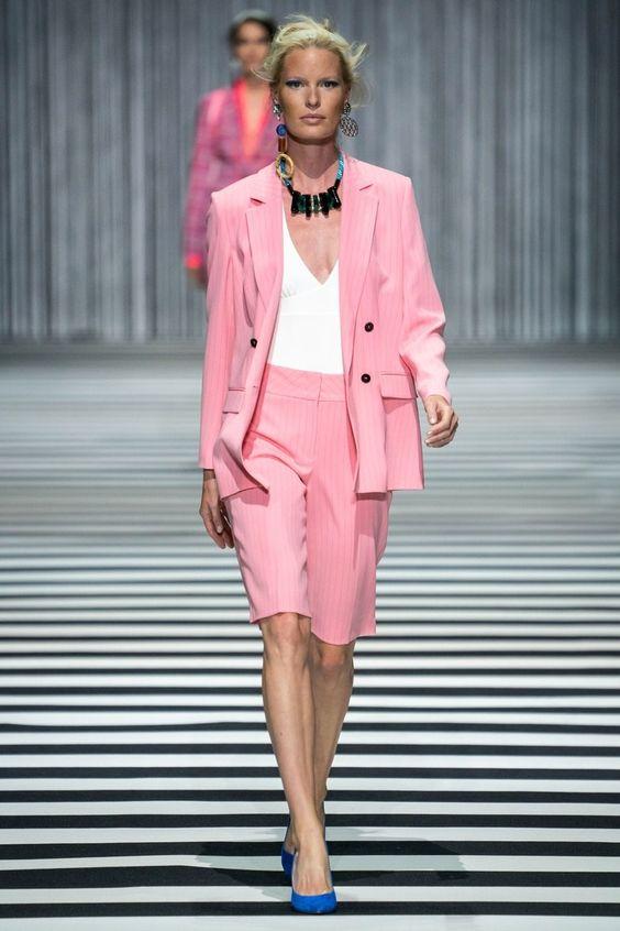Marc Cain Berlin Frühjahr / Sommer 2020 - die Kollektion mit allen Runway-Looks, den Models und ihren Beauty-Secrets