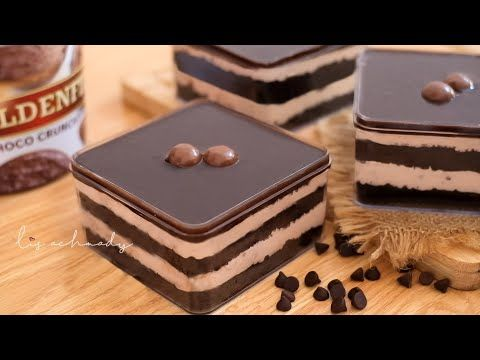 Omset Jutaan Double Coklat Crunchy Dessert Box Ide Jualan Youtube Hidangan Penutup Coklat Cemilan