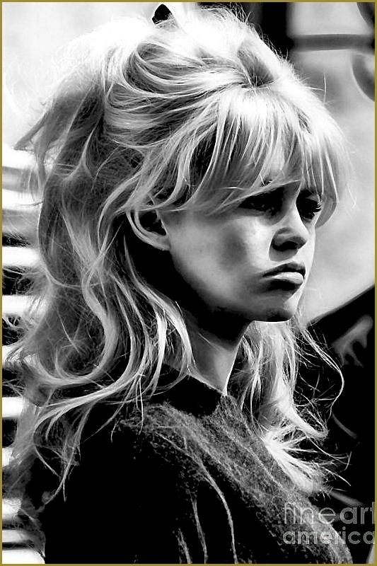 Brigitte Bardot Sammlung Poster Von Marvin Blaine Brigitte Bardot Plakat Mit Der Sammlung 70s Haar 60er Jahre Frisuren Haar Pony