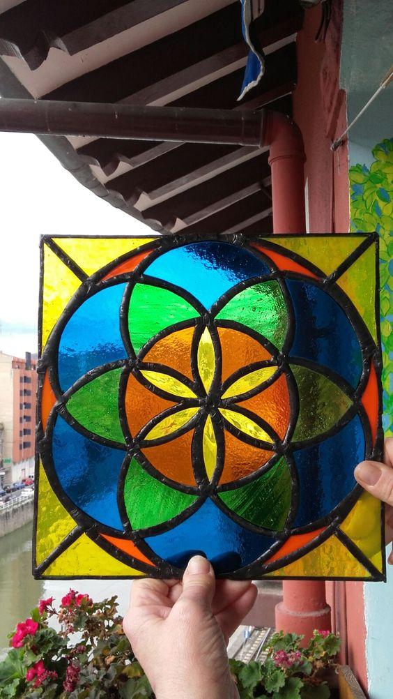 "mandala "" la flor de la vida"""