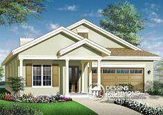 Plan de maison no. W3240 de dessinsdrummond.com