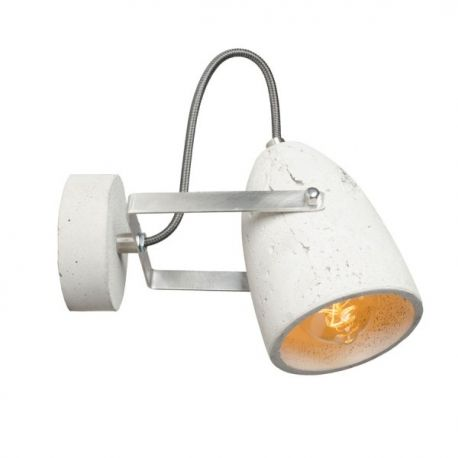Betonowy kinkiet ścienny Febe. Surowa, industrialna forma dostępna w różnych opcjach kolorystycznych. Lampa polecana jako kinkiet do sypialni oraz salonu. http://blowupdesign.pl/pl/15-lampy-betonowe-gipsowe-industrialne-loft-design# #walllamps #lamps #lighting #loftdesign #indutrialdesign #productdesign #industrial #homelighting #lightingstore #concrete #concretelamp #lampaloft