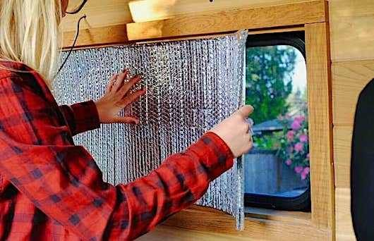 Rv Window Insulation Tips For Summer And Winter Insulation