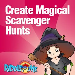 how to create a mystery scavenger hunt