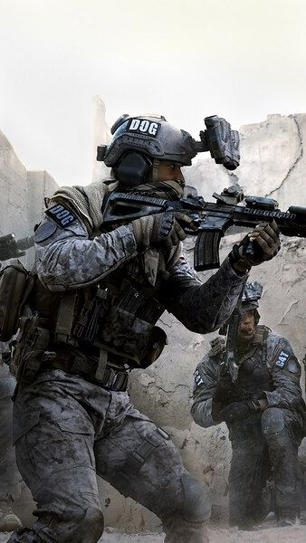Call Of Duty Modern Warfare Soldiers 4k Hd Mobile Smartphone And