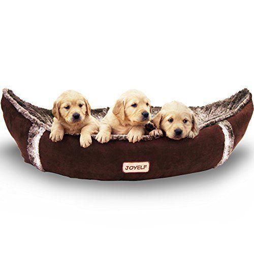 Joyelf Medium Dog Bed Orthopedic With Removable Washable Cover Boat For Small To Joyelf Orthopedic Dog Bed Medium Dog Bed Warm Dog Beds