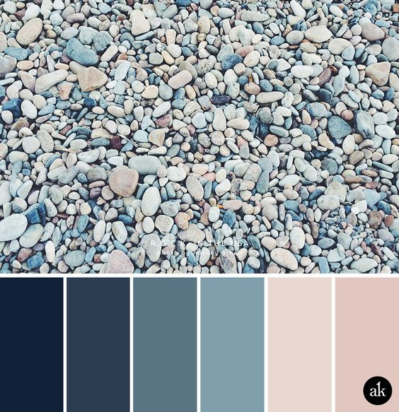 A color, Color palettes and Indigo on Pinterest