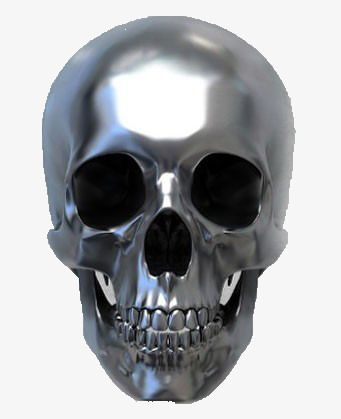 Metal Skeleton Metal Skull Science And Technology Png And Vector With Transparent Background For Free Download Skull Metal Skull Skull Art