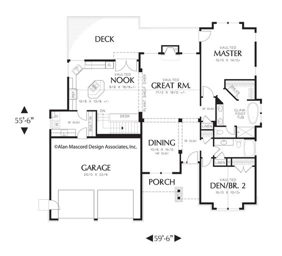 Basement Plans House Plans And Craftsman Style Home Plans