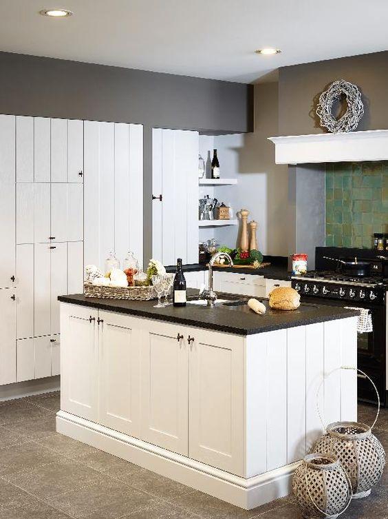 14 inrichtingstips voor een kleine keuken • foto: www.dovykeukens ...