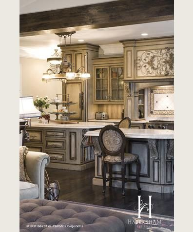 Creative Custom Cabinetry Gorgeous cabinetry I like the