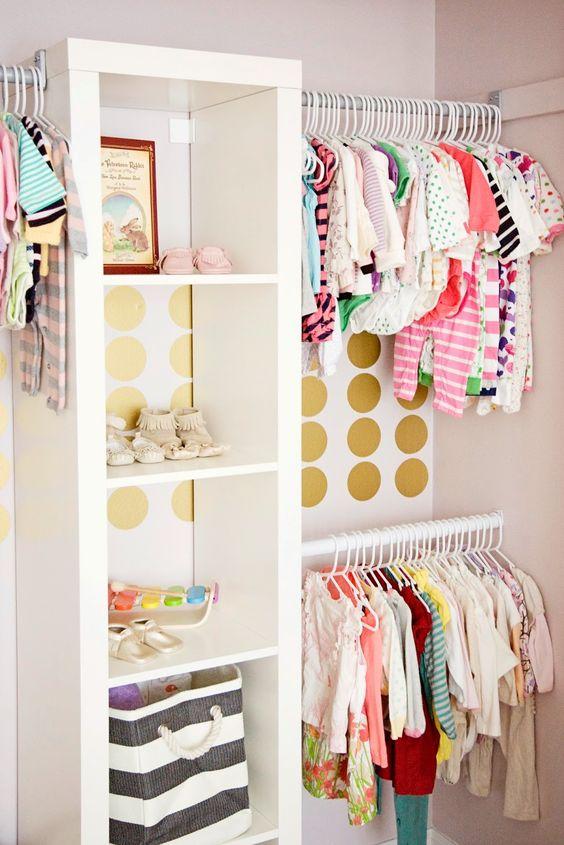 Little Girl's Closet on Strawberry Swing and Things , baby, nursery, baby closet, kids closet