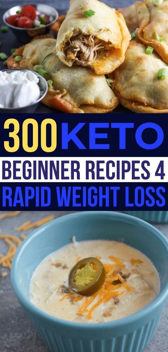 300 Keto Beginner Recipes For Weight Loss