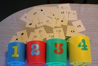 Note value relay game, and some other ideas for music games that get kids moving!