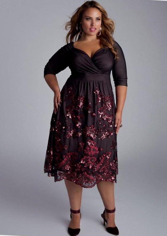 Slimming Dresses For Plus Size Plussize Dresses Trendy2017