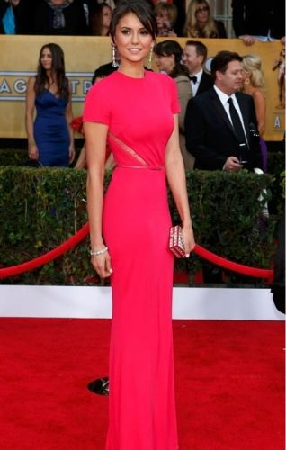 Nina Dobrev - Elie Saab - Red Carpet - SAG Awards - On Fashion and Things - the Vampire Diaries