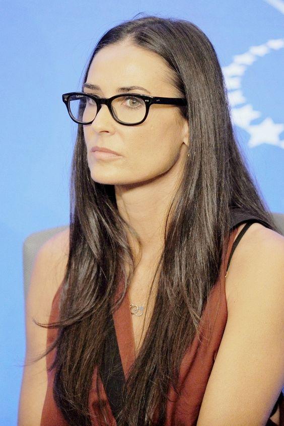 Demi Moore's Fashion Eyewear