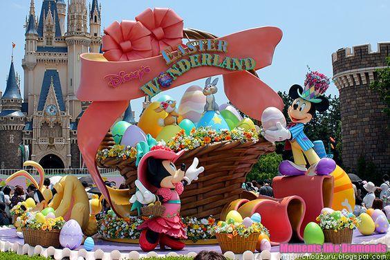 Easter in Disneyland!