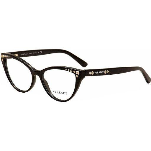 Versace Eyeglasses Blue and Brown - $159   Eyeglasses   Pinterest ...