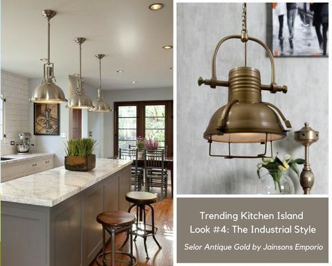 Pendants Lights To Design A Pinterest Worthy Kitchen Island Kitchen Island Lighting Pendant Modern Kitchen Island Antique Kitchen