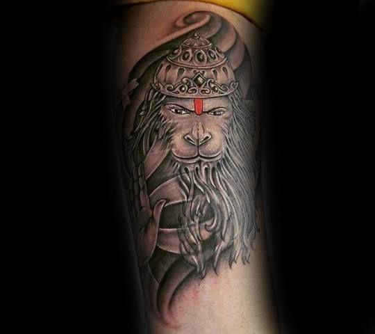 60 Hanuman Tattoo Designs For Men Hinduism Ink Ideas Hanuman Tattoo Tattoo Designs Men Tattoos