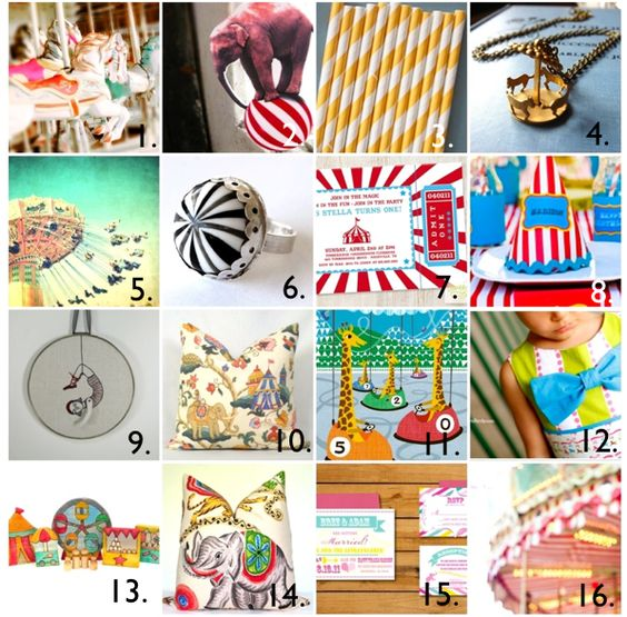 Etsy Carnival Roundup