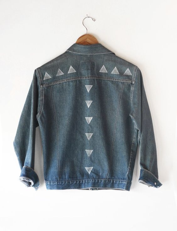 ART ON DENIM || Susan Connor + Everything Golden