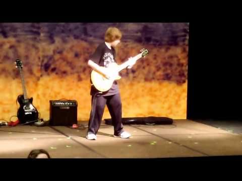 5th Grader AMAZING Guitar Cover to 'In The End' by Black Veil Brides (MUST WATCH) - YouTube