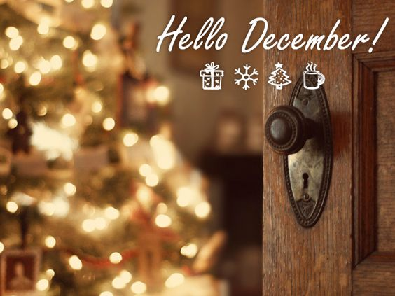 December is the last & best month of the year! #HelloDecember #December #Christmas #NameLabels