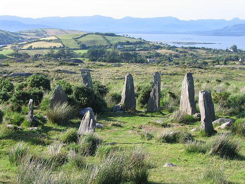 Beara Stone Circle - one of many hidden in Ireland.