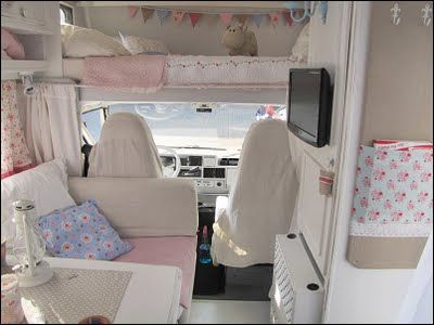 """""""home sweet motorhome"""" bunk after"""