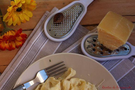 Fettuccine Alfredo (em uma panela só) - Receitas da Formiguinha