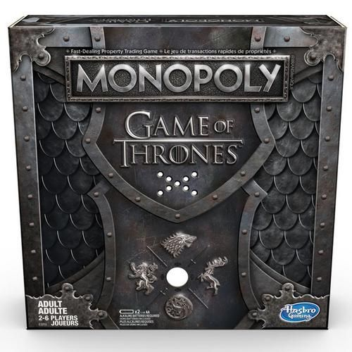 Hasbro Monopoly Game Of Thrones Board Game In 2020 Monopoly Game Game Of Thrones Funny Game Of Thrones Quotes