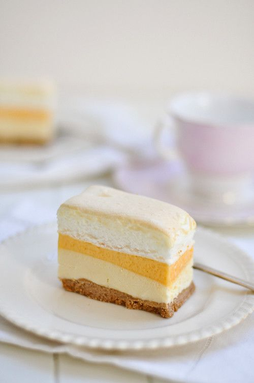 Frozen Brazo De Mercedes Desserts Filipino Desserts Dessert Recipes