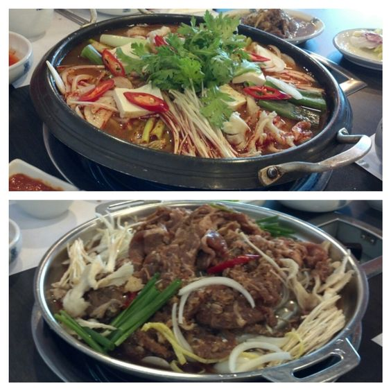 Korean food at Diamond Plaza top floor.