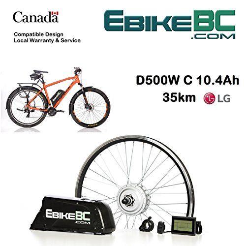 Ebike Kit 500 800w Electric Bicycle E Bike Complete Conversion Kit