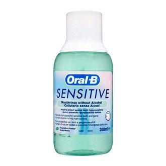 Oral B Sensitive - Solution Dentaire Sans Alcool 300 ml Aide à prévenir…
