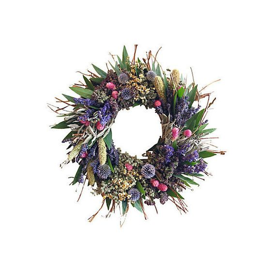 """18"""" Spring Twig Wreath w/ Bay Wreaths ($59) ❤ liked on Polyvore featuring home, home decor, decorative accessories, floral home decor, floral wreaths, leaf wreath, spring floral wreaths and twig wreath"""