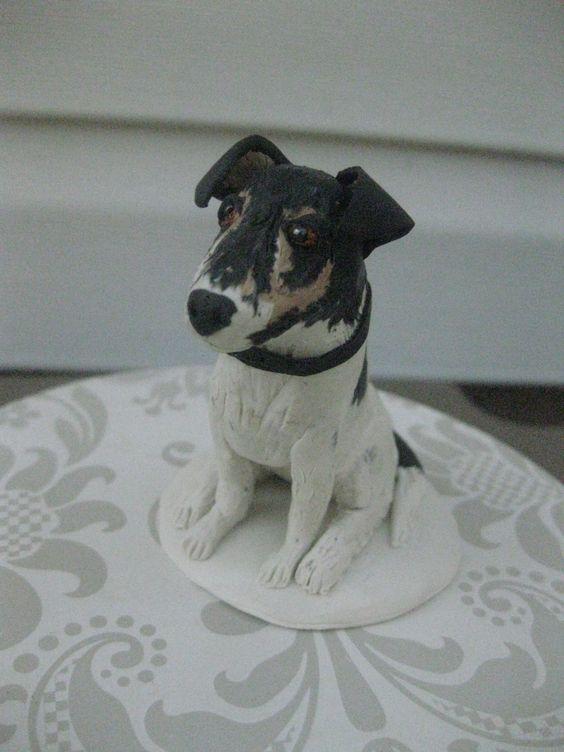 Custom Dog cake topper