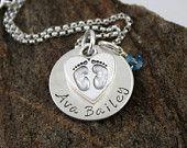 Commemorative Baby Necklace