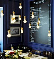 H.A.N.D Restaurant in Paris...love the look of this place!