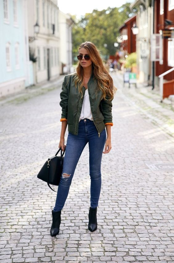 Styling Tips How To Wear Bomber Jacket - Be Modish | Stylists