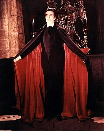 Dracula actors list - Christopher Lee, The King of the ...