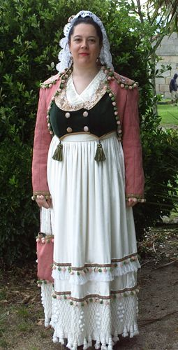 Traje Goyesco / Spanish Regency Dress (Ca. 1809)