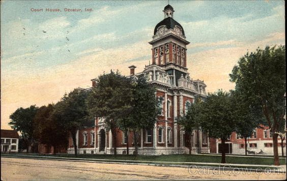 Court House Decatur Indiana